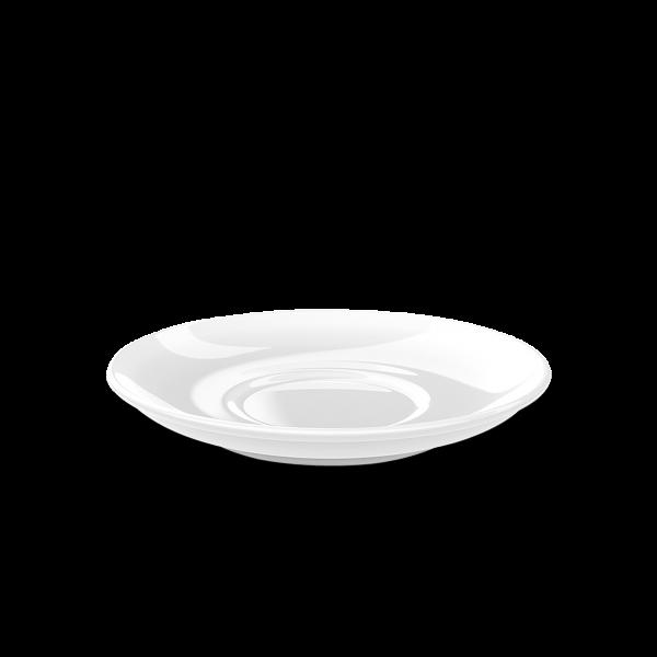 Cappuccino Untertasse Weiß (16cm)