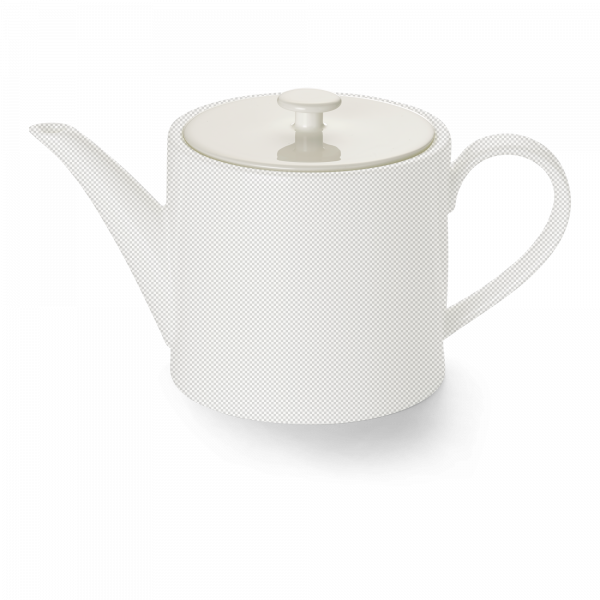 Lid of teapot 1,3 l cylindrical white