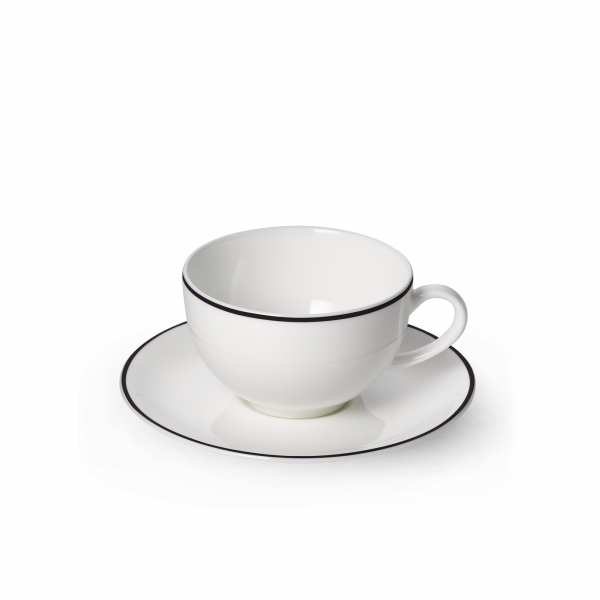 Set Kaffeetasse Schwarz (0,25l)