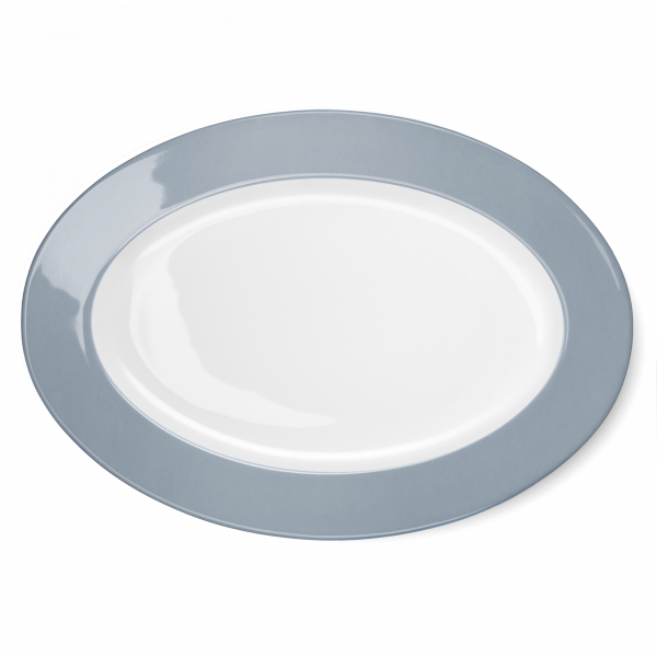 Oval Platter Grey (36cm)