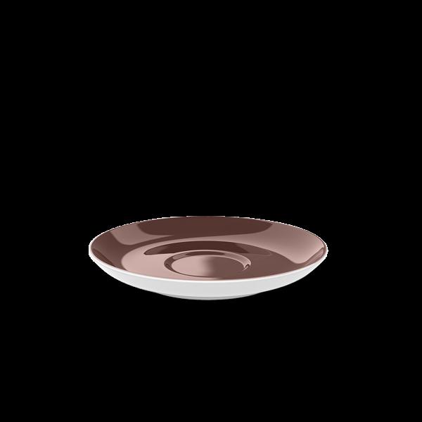 Tee Untertasse Kaffeebraun (15cm)