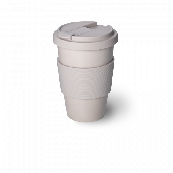 Solid Color Coffee-To-Go Becher Pearl (0,35l)