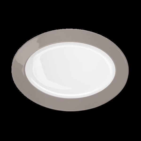 Ovale Platte Kiesel (33cm)