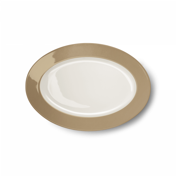 Oval Platter Clay (29cm)