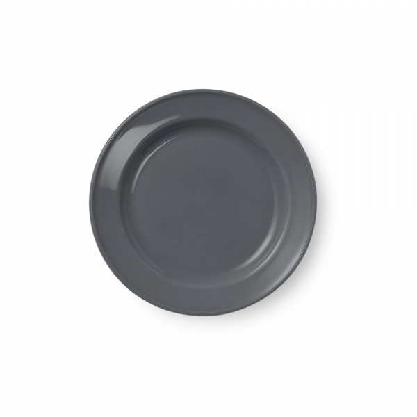 Dessert Plate full decor Anthracite (19cm)