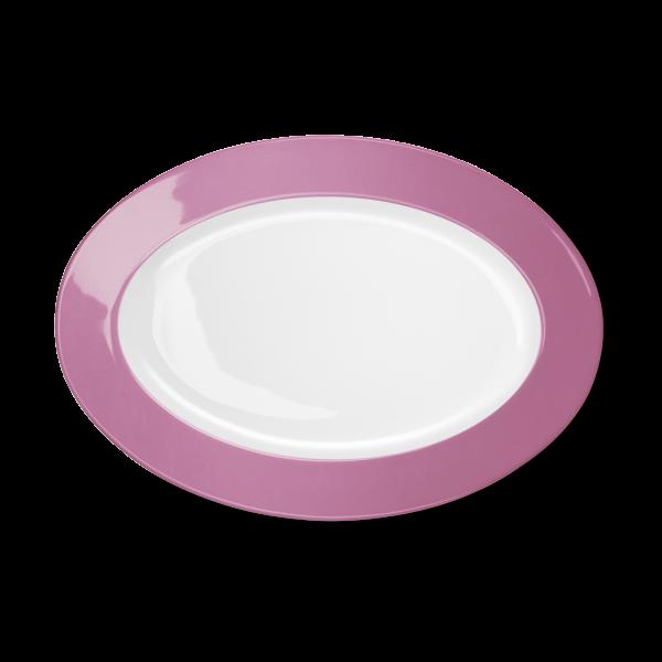 Oval Platter Pink (33cm)