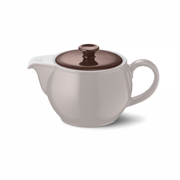 Deckel für Teekanne Kaffeebraun (0,8l)