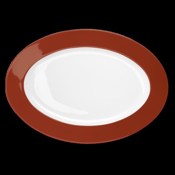 Ovale Platte Paprika (36cm)