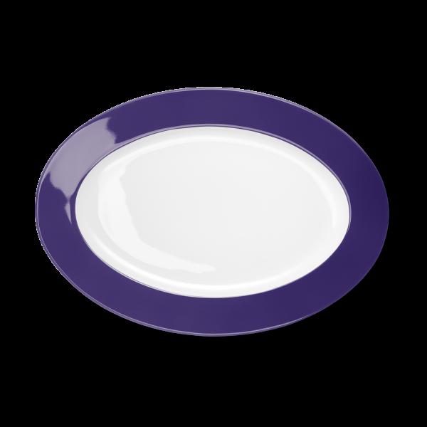 Ovale Platte Violett (33cm)