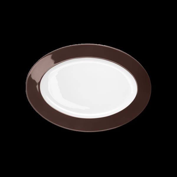 Oval Platter Coffee (29cm)