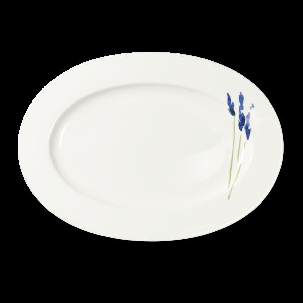 Oval Platter Blue (39cm)