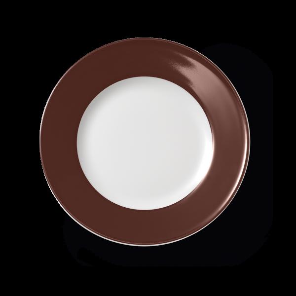 Speiseteller Kaffeebraun (26cm)