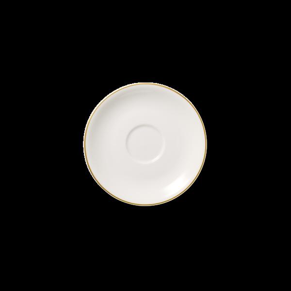 Kaffee Untertasse Gold (17,4cm; 0,2l)