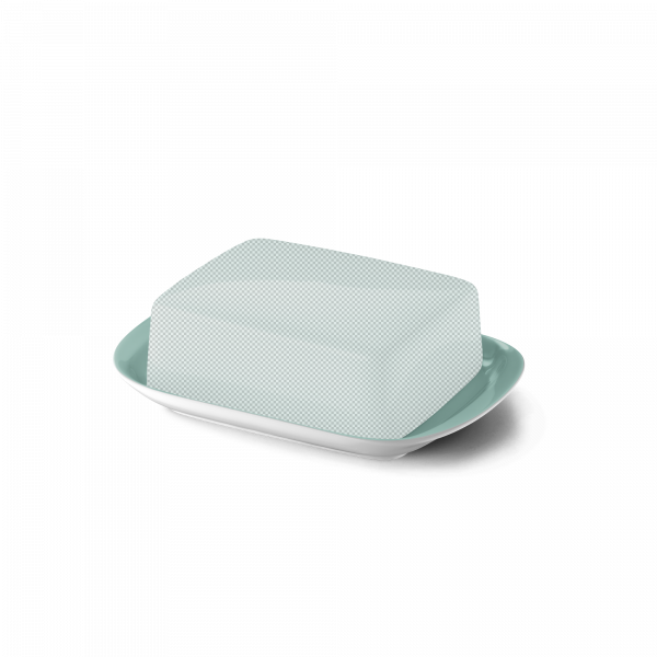 Butterdose Untere Türkis