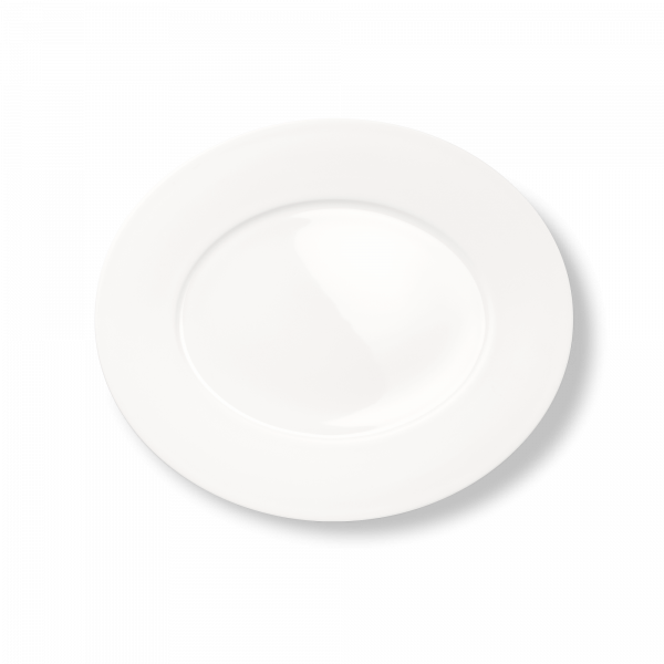 Ovale Platte (Matt) (34cm)