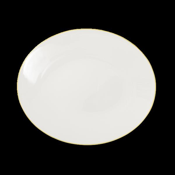 Ovale Platte Gelb (39cm)