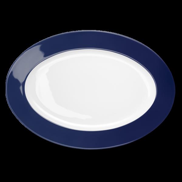 Oval Platter Navy (36cm)
