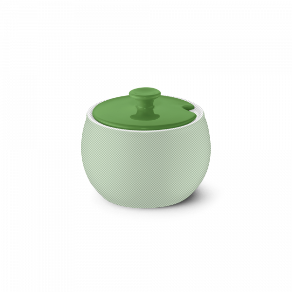 Deckel für Zuckerdose Apfelgrün