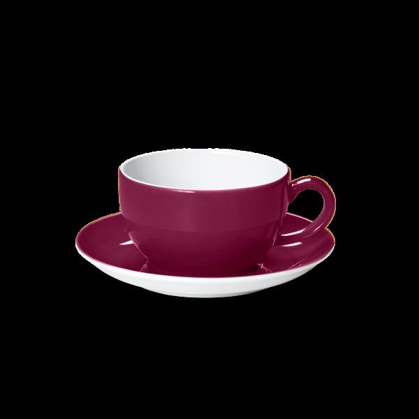 Set Breakfast cup Bordeaux (0,3l)