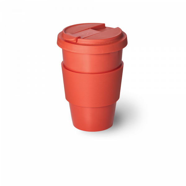 Solid Color Coffee-To-Go Becher Koralle (0,35l)
