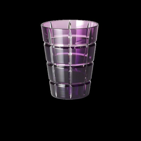 Glas 0,33 l lila squares
