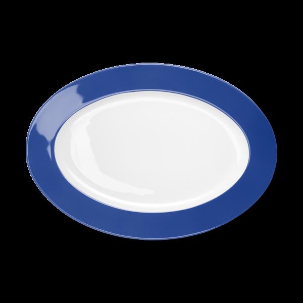 Oval Platter Cornflower (33cm)