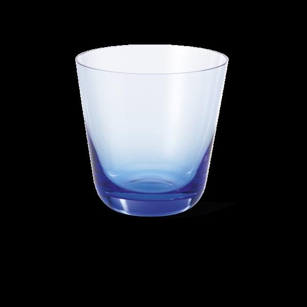 Glas Azurblau (0,25l)