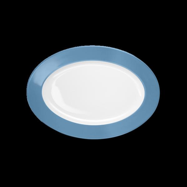 Oval Platter Vintage Blue (29cm)