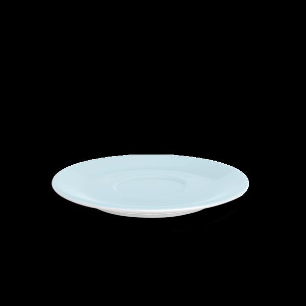 Jumbo Untertasse Eisblau (19,5cm)