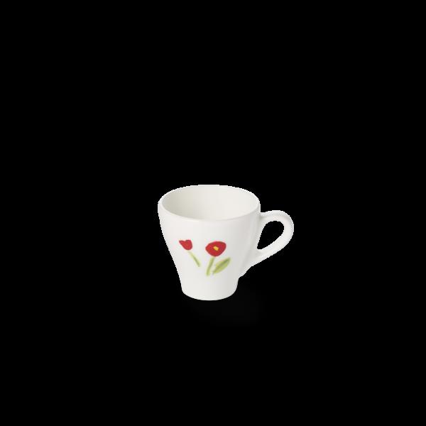 Espresso Obertasse Classico Rot (0,11l)