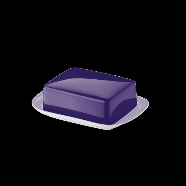 Butterdose Oberteil Violett