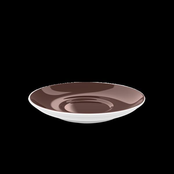 Cappuccino Untertasse Kaffeebraun (16cm)