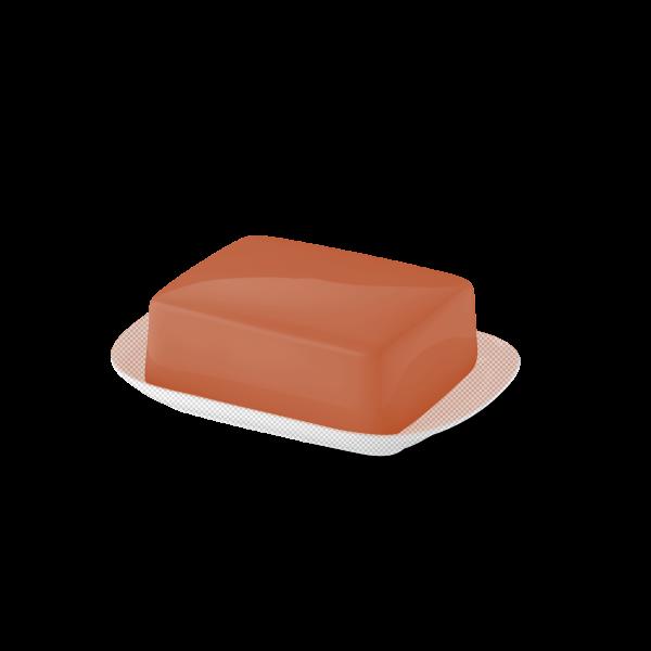 Butterdose Oberteil Papaya