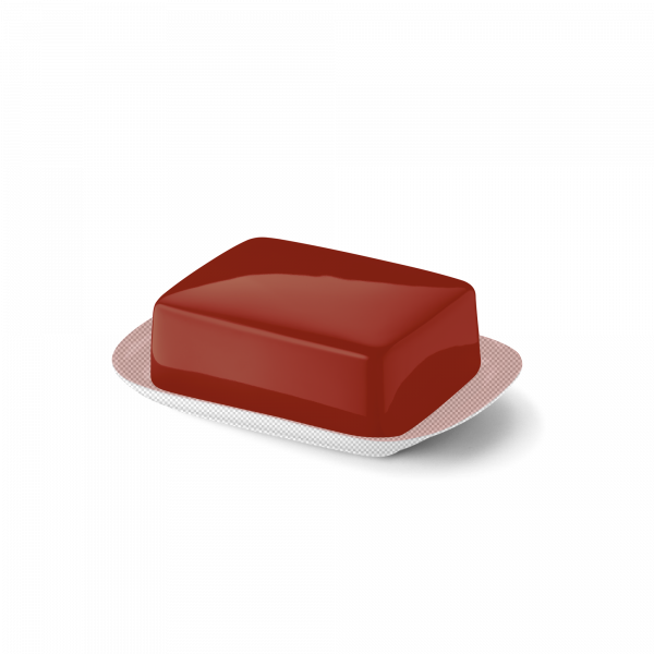 Butterdose Oberteil Paprika