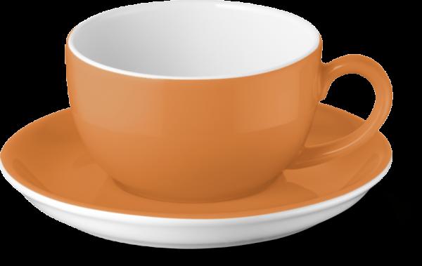 2-tlg. Set Espressotasse 0,10l orange