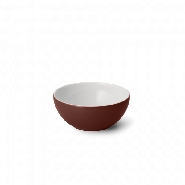 Müsli/-Salatschale Kaffeebraun (12cm; 0,35l)