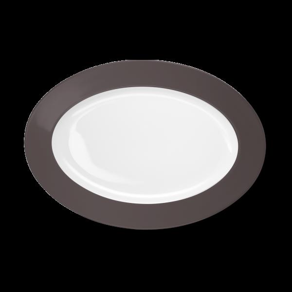 Ovale Platte Umbra (33cm)