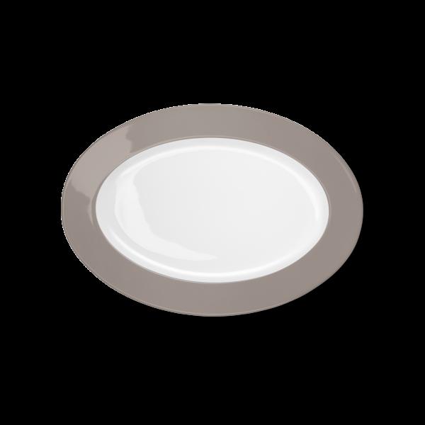 Ovale Platte Kiesel (29cm)