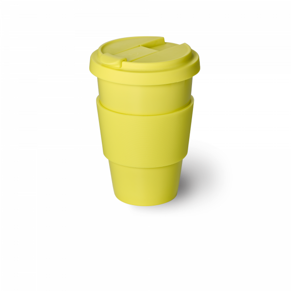 Solid Color Coffee-To-Go Becher Zitrone (0,35l)