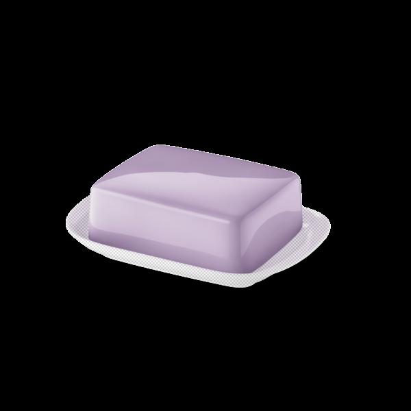 Butterdose Oberteil Flieder