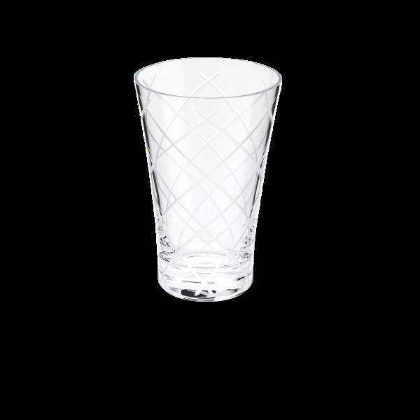Glas 0,3 l kreuzschliff klar