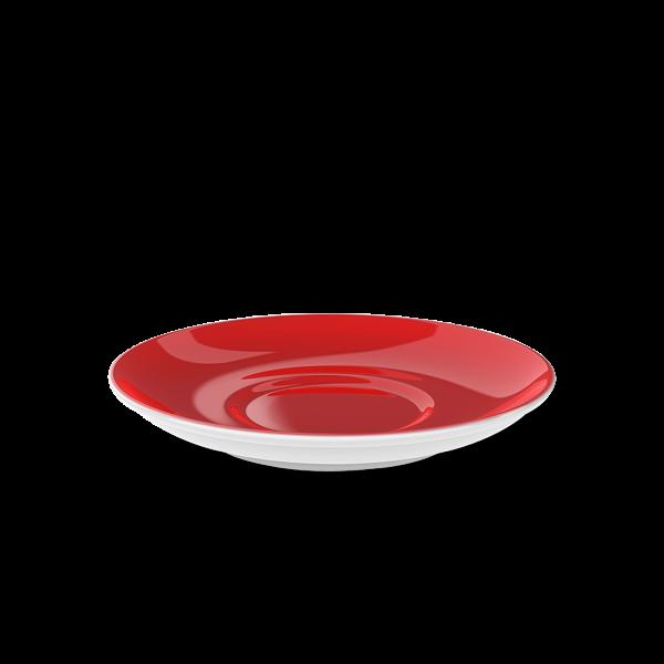 Cappuccino Untertasse Signalrot (16cm)