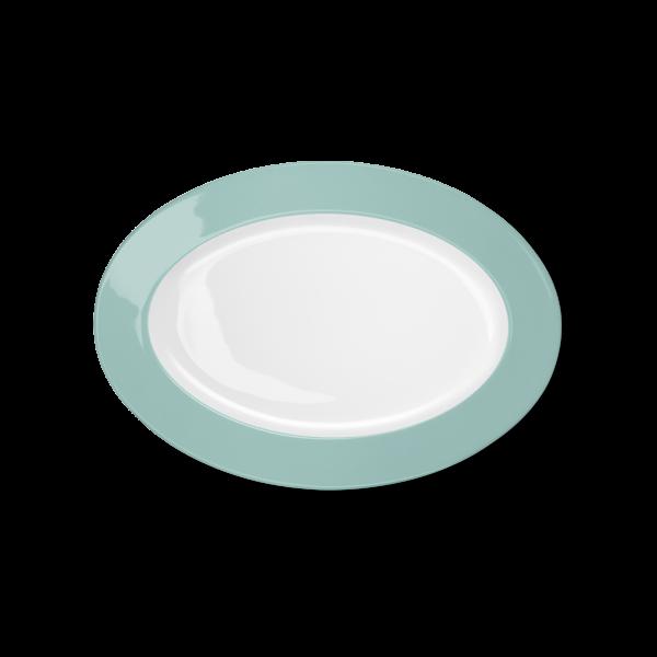 Oval Platter Turquoise (29cm)