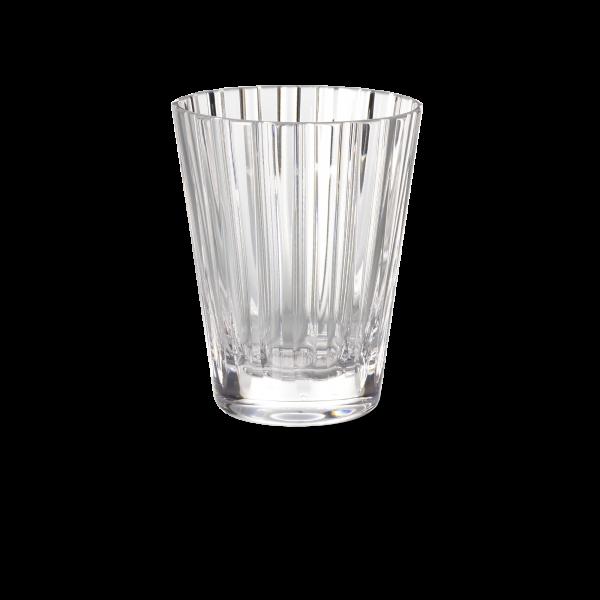 Glas 0,33 l klar stripes