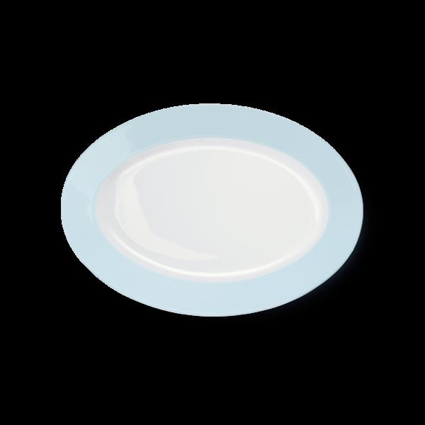 Oval Platter Ice Blue (29cm)