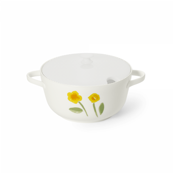 Base of vegetable dish 2 l yellow