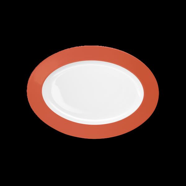 Oval Platter Brick (29cm)