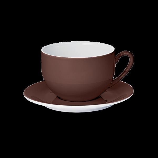 Set Jumbotasse Kaffeebraun (0,6l)