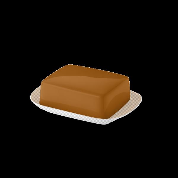 Butterdose Oberteil Karamell