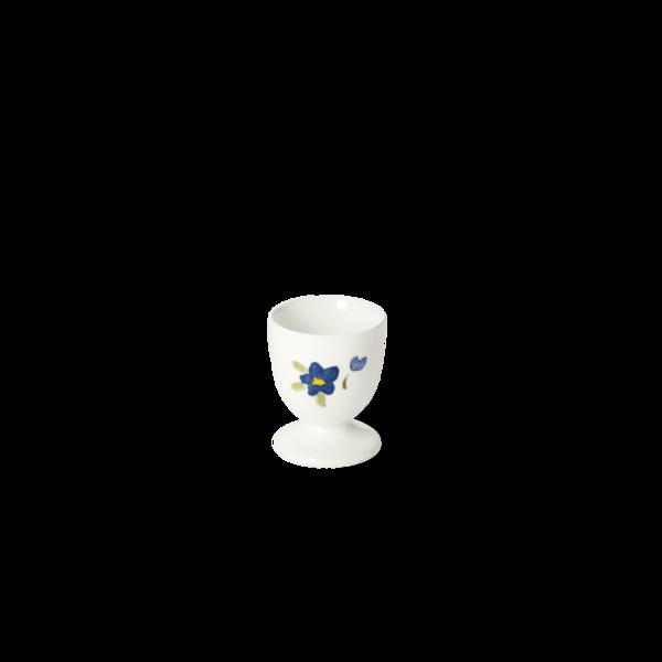 Eierbecher mit Fuß Blau